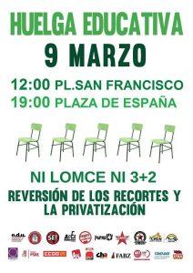 Huelga Educacion9marzo