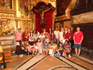 Visita al Pilar