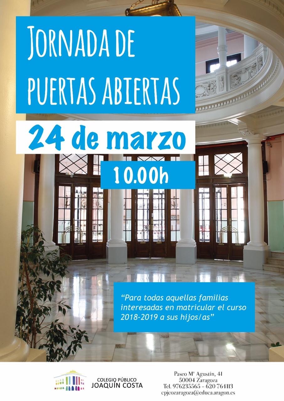 Jornada Puertas Abiertas 2018